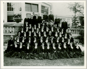 Choir of Metropolitan Methodist Church | Accession 90.115P/847