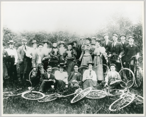 Bicycle Club from Metropolitan Methodist Church in 1897 | Accession: 90.115P/866